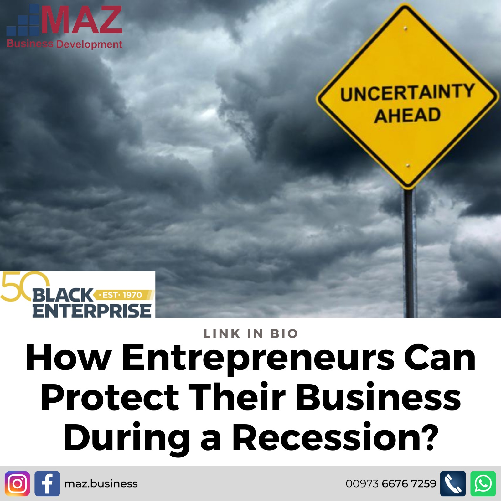 How Entrepreneurs Can Protect Their Business During a Recession?