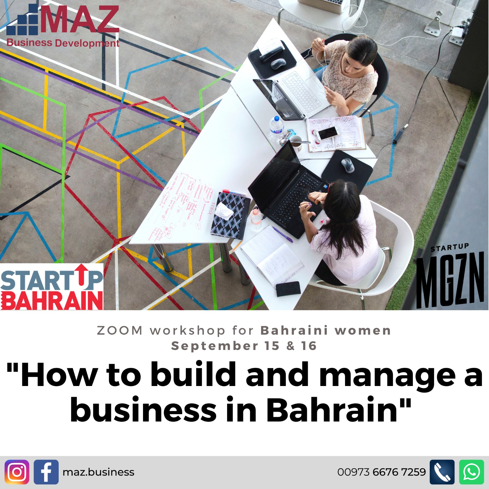 """""""How to build and manage a business in Bahrain"""" by Zahraa Taher"""