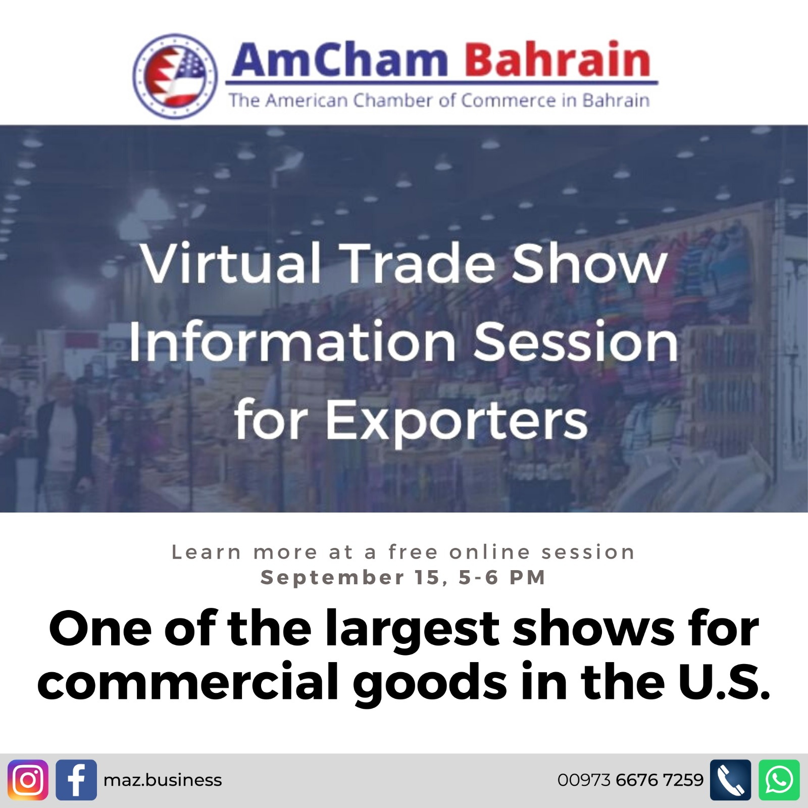 Virtual Trade Show- Information Session